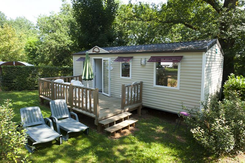 Location - Mobil Home 3 Chambres Du Dimanche Au Dimanche - Camping Les Grottes de Roffy