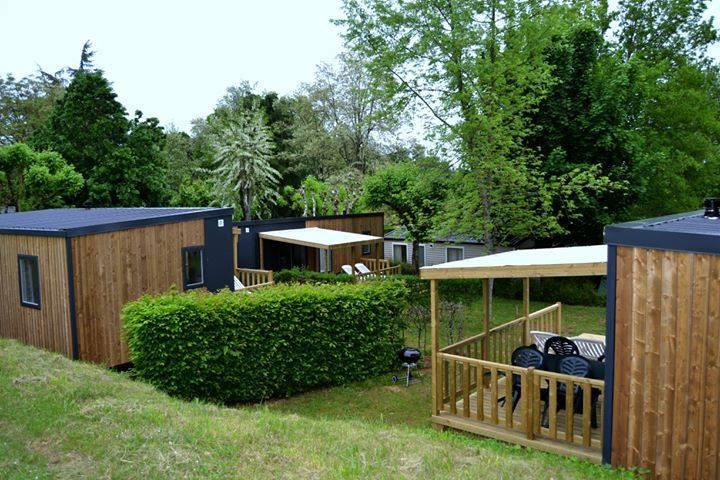 Location - Lodge Nouveau Design Tout Confort - Camping Les Grottes de Roffy