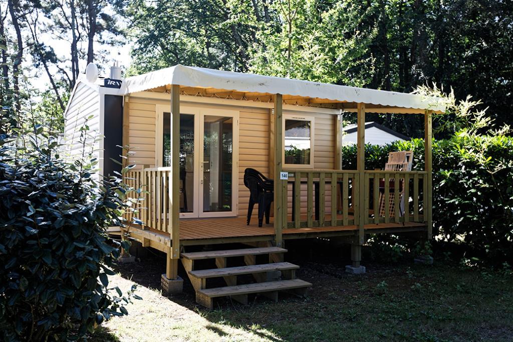 Location - Mobil-Home 1 Chambre Confort Semaine - Camping Château Du Petit Bois