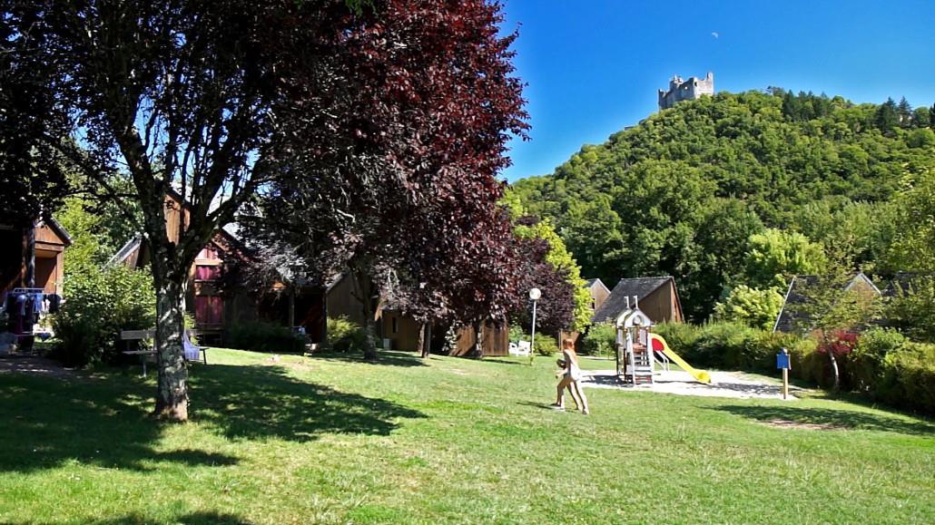 Camping le Païsserou, Najac, Aveyron