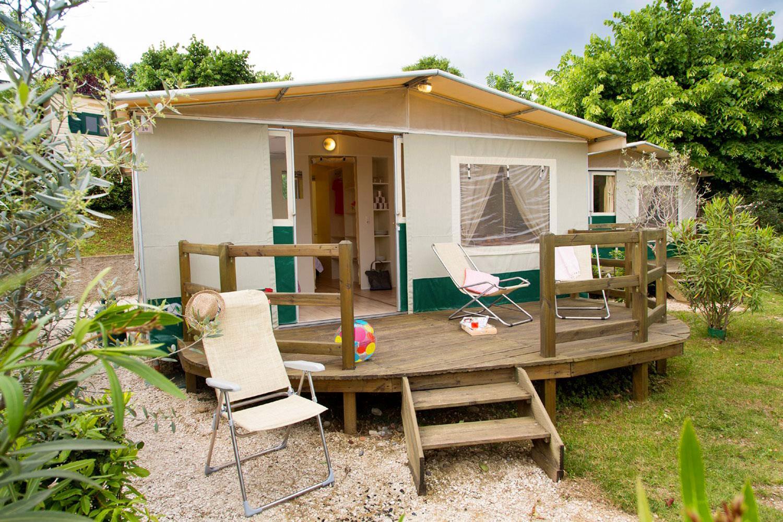 LODGETENT (Tenda) - 28 m² - 5 posti letto - bagno - giardino