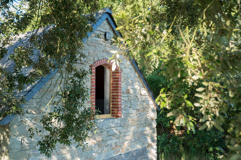 Location - Maison Du Bateau 27 M² - Camping Castel L'Orangerie de Lanniron