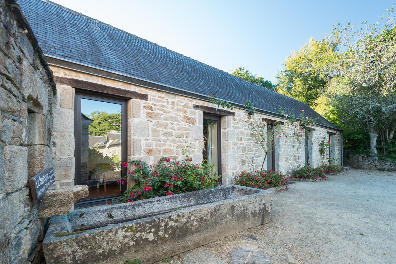 Location - Maison Ty Kerbabic 56M² - Camping Castel L'Orangerie de Lanniron
