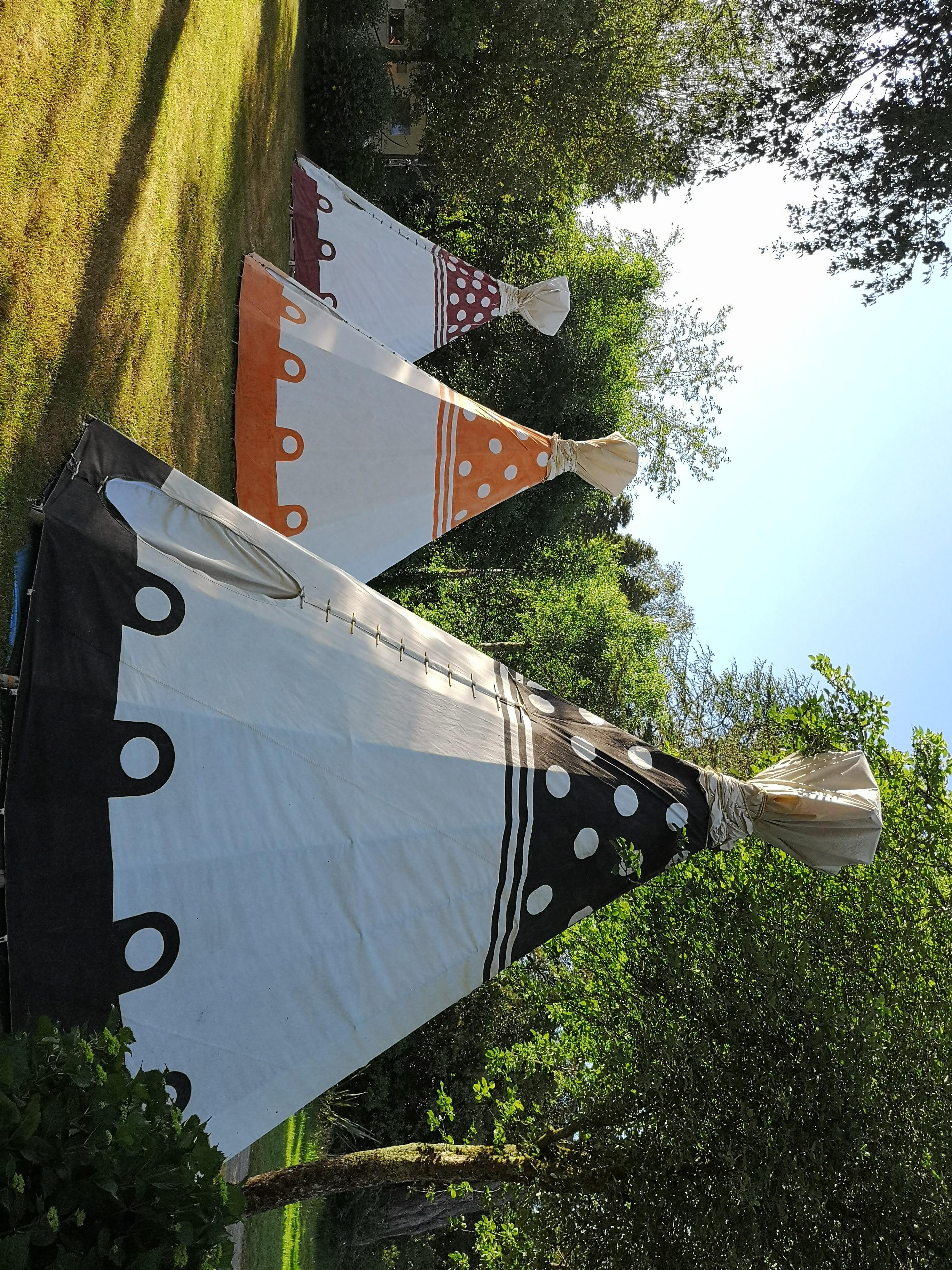 Location - Tipi Tente Insolite 4 Pers - Camping Castel L'Orangerie de Lanniron
