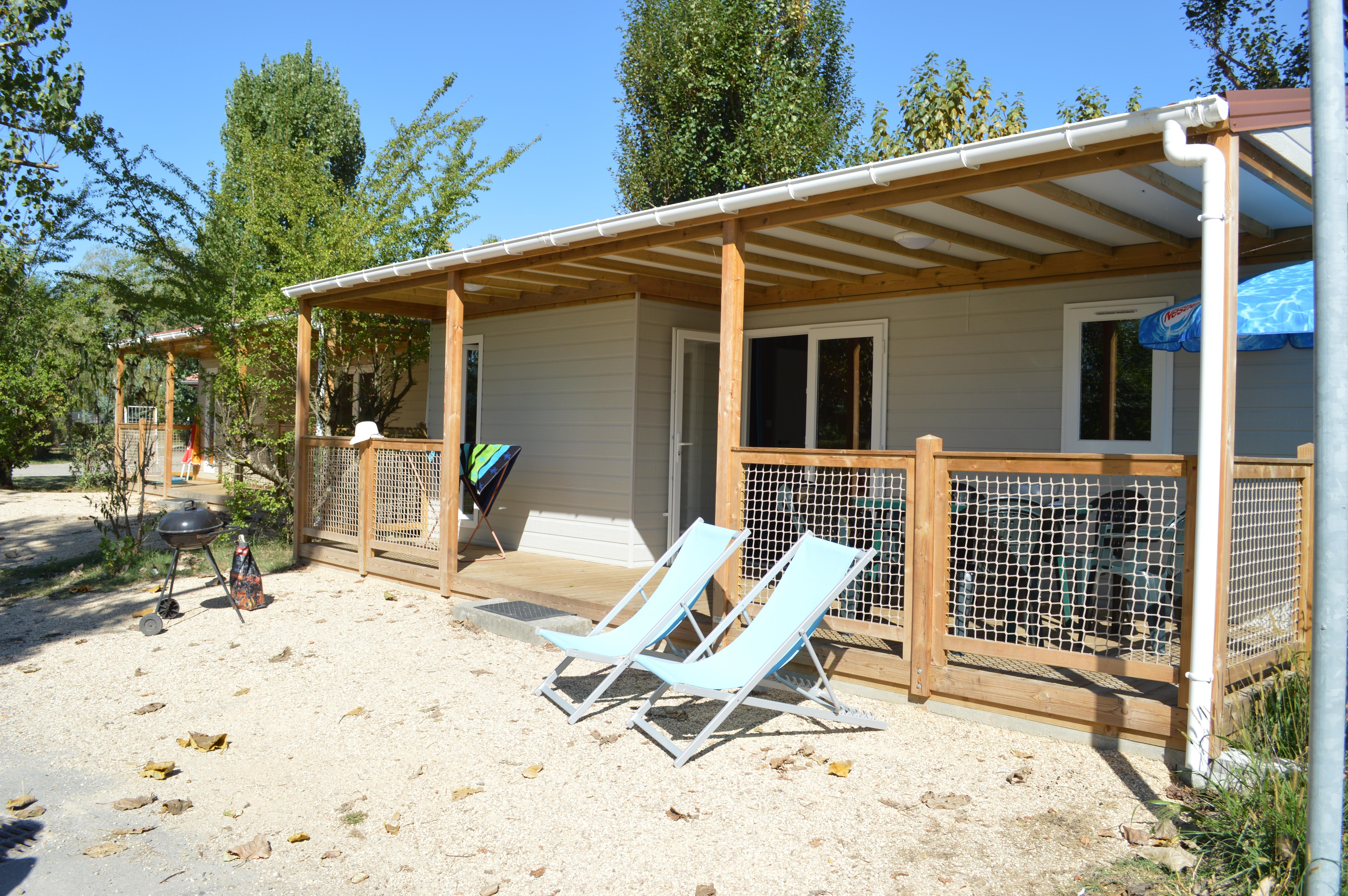 Accommodation - Chalet Navire 3 Bedrooms 35M² 2017/2018 - Camping Ile de la Comtesse