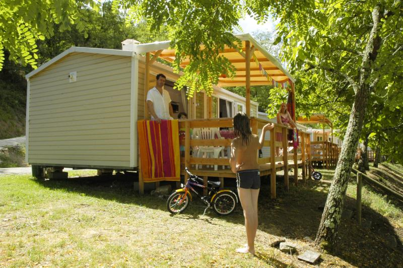 Location - Cottage Visio 3 Chambres - Camping Mas de Champel