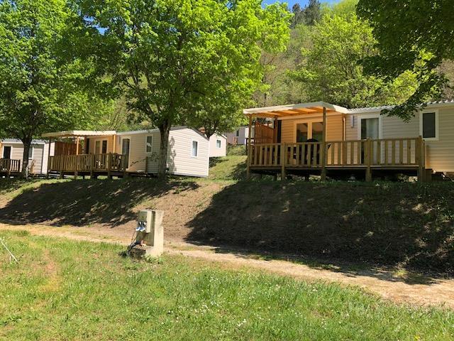 Location - Cottage Mercure 4P  Terrasse - Camping Mas de Champel