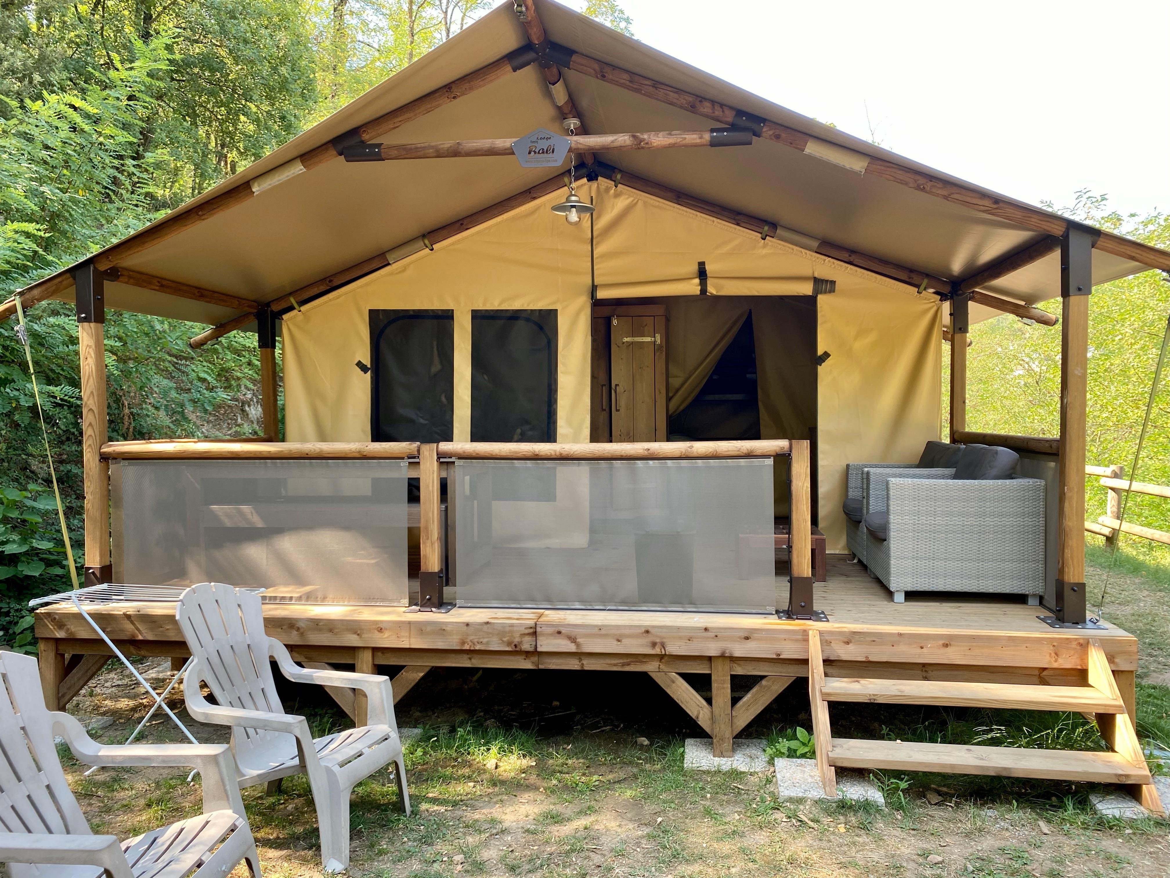 Location - Safari Tente - Camping Mas de Champel