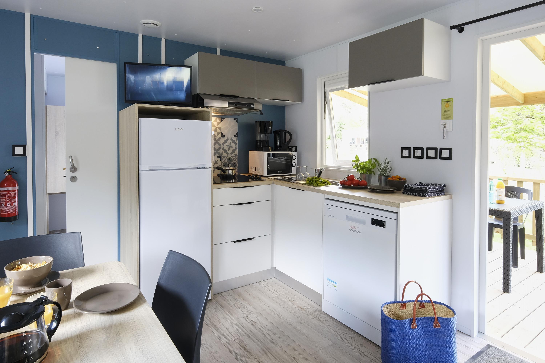 Location - Mobil-Home Premium Suite Duo - 32M² - 2 Chambres - 2 Salles De Bain - Camping Le Village Parisien