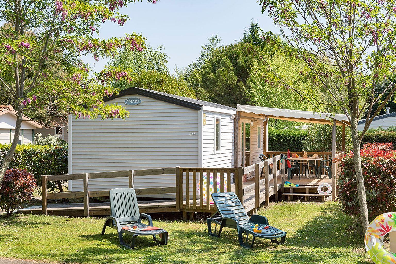 Location - Cottage 2 Chambres *** Adapté Aux Personnes À Mobilité Réduite - Camping Sandaya Sanguinet Plage