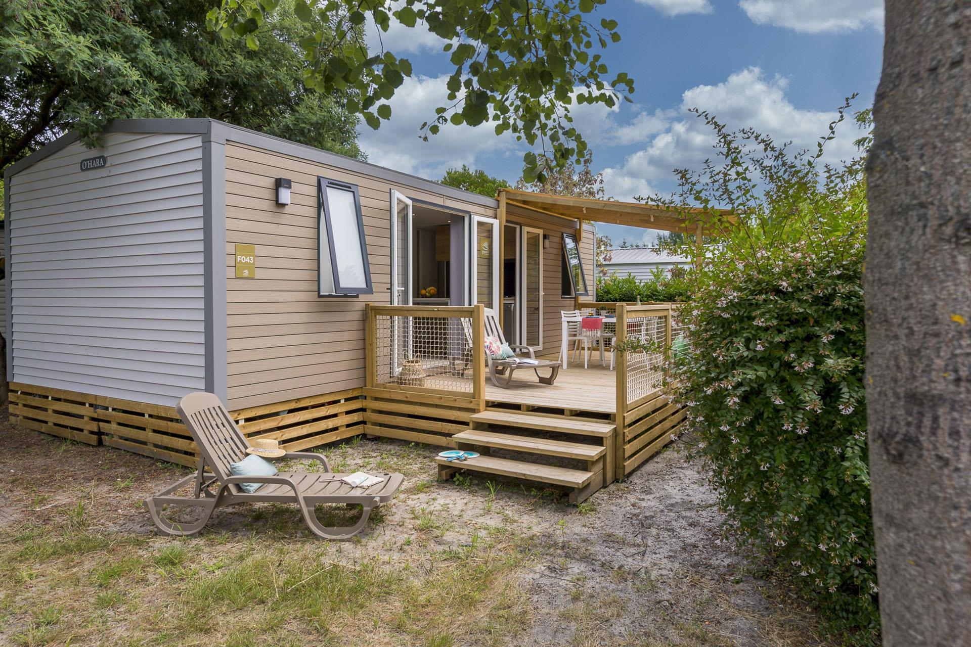 Location - Cottage 3 Chambres **** - Camping Sandaya Sanguinet Plage