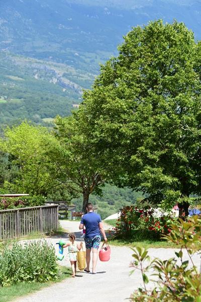 Camping le Couspeau, Le Poet-Celard, Drôme