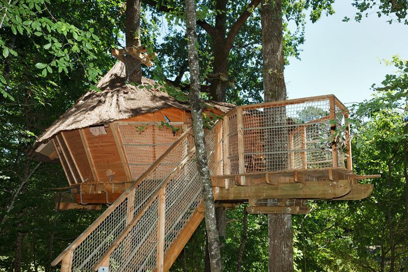 Location - Cabane Familiale - 30 M2 - - Camping Castel Parc de Fierbois