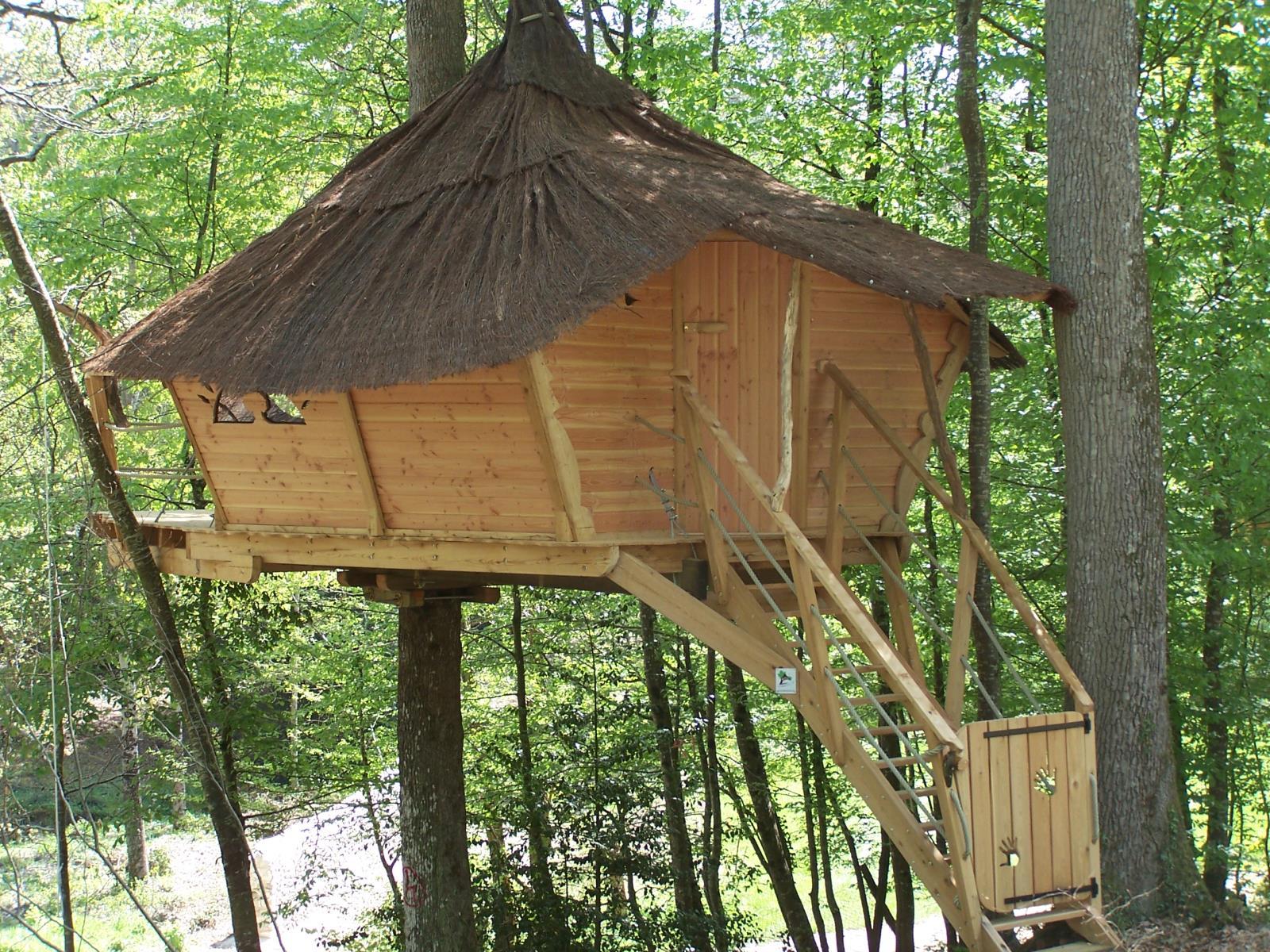 Location - Cabane Couple - 20M² - Camping Castel Parc de Fierbois