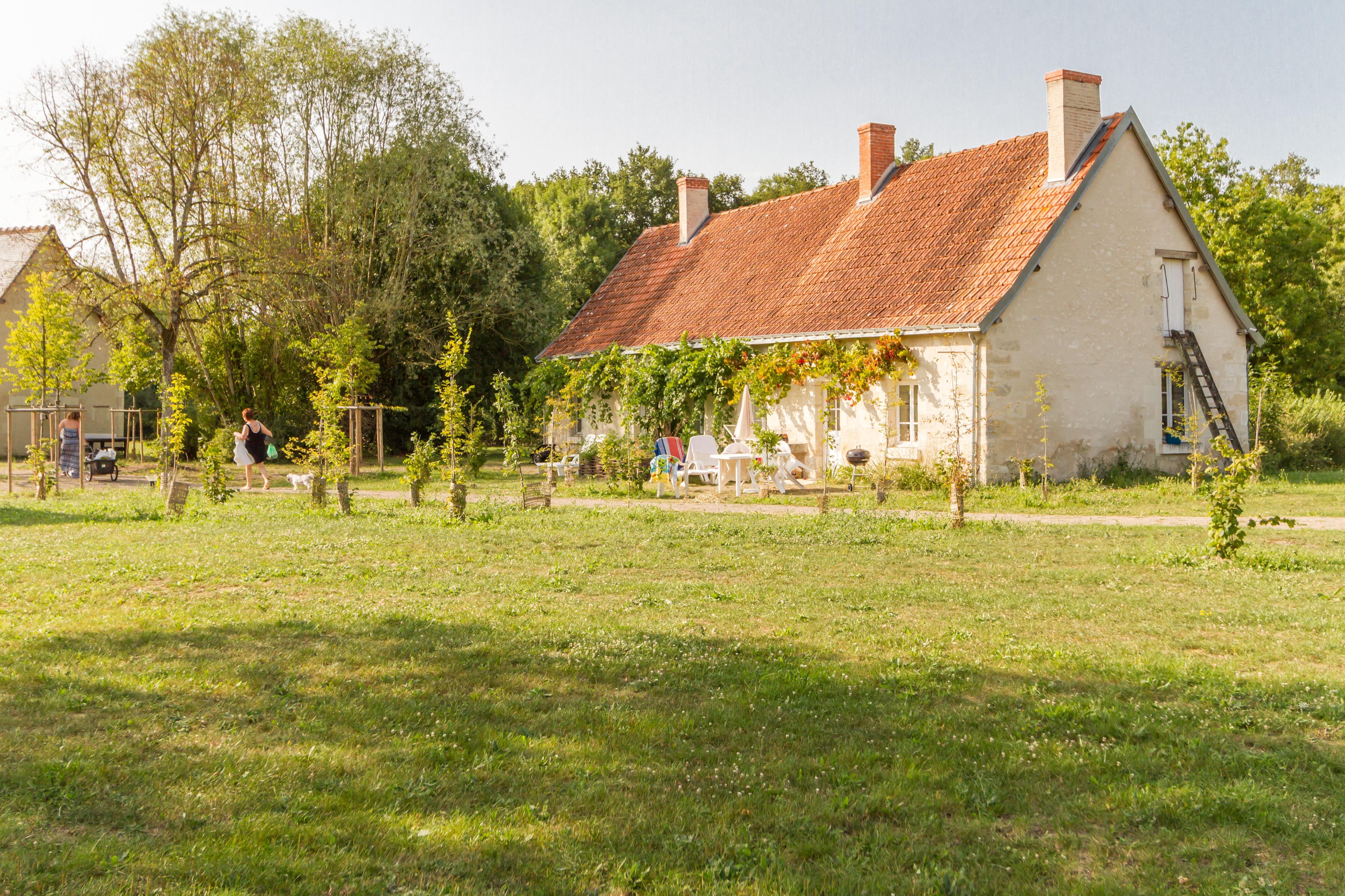 Location - Gîte - 1 Chambre - 1 Salle De Bain - Le Saule - Camping Castel Parc de Fierbois