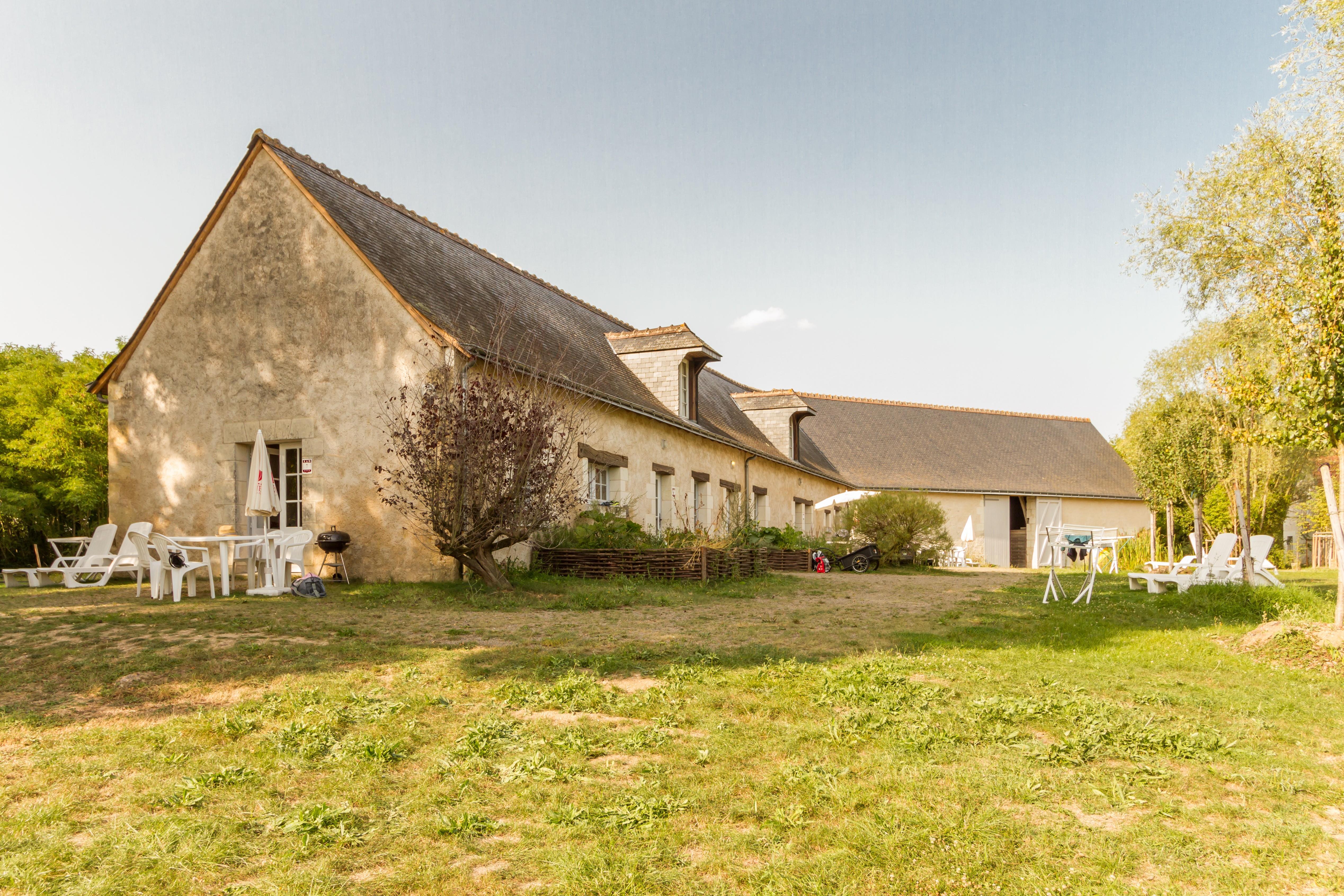 Location - Gîte - 1 Chambre - 1 Salle De Bain - Le Frêne - Camping Castel Parc de Fierbois