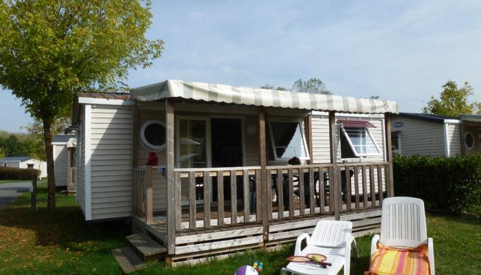 Location - Mobil-Home - 2 Chambres - 1 Salle De Bain - Avec Terrasse - Camping Castel Parc de Fierbois