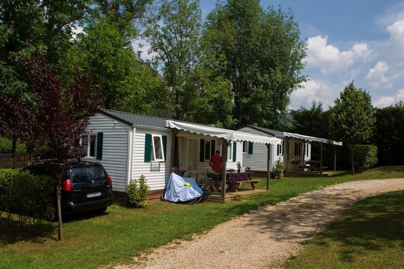 Location - Mobil Home Bermudes 30M² - Camping Le Jardin des Cévennes