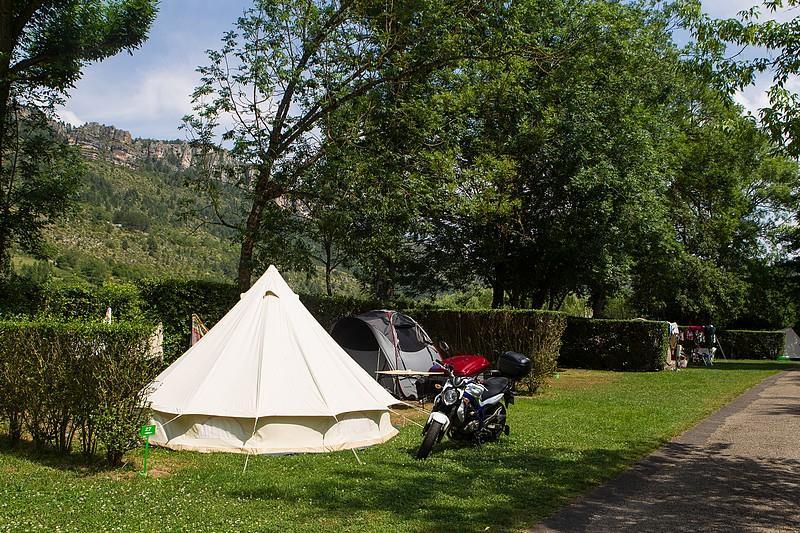 Camping le Jardin des Cévennes, Meyrueis, Lozère