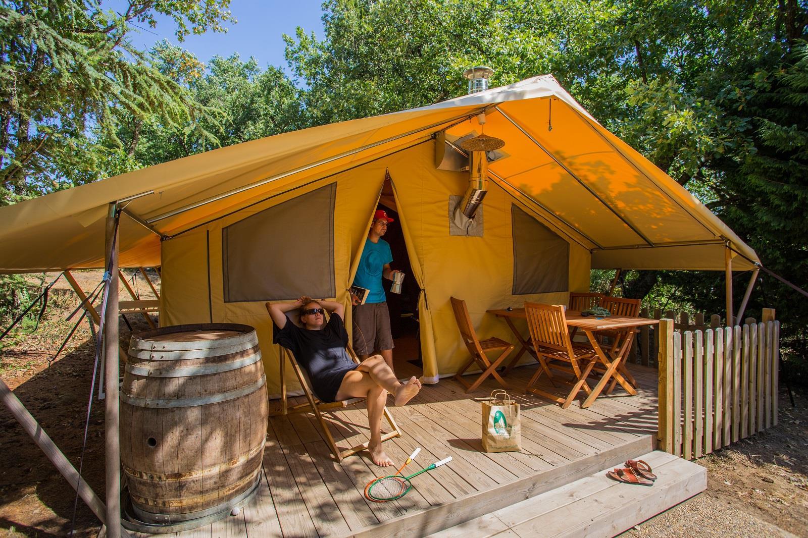 Camping Bel'epoque du Pilat, Pelussin, Loire