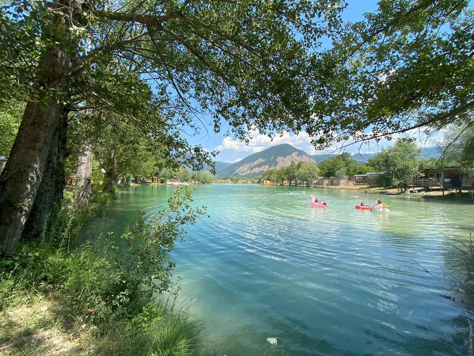 Camping le Lac Bleu, Chatillon-en-Diois, Drôme