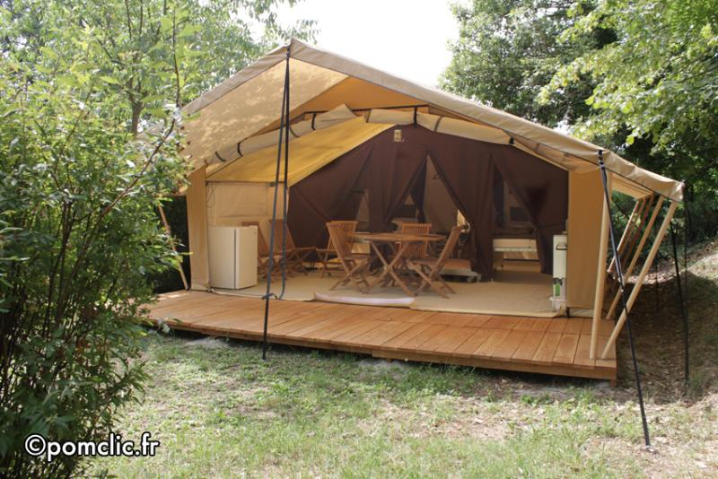 Accommodation - Eco-Tent Sicile , 5 Peoples (Sundayy) - Domaine des Chênes