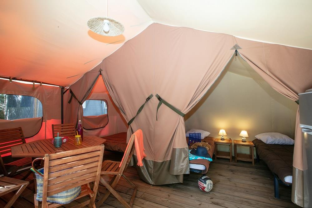 Accommodation - Eco-Tent Sardaigne, 4 Peoples (Sunday/Sunday) - Domaine des Chênes