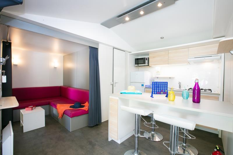 Accommodation - Mobil-Home Club, - Domaine des Chênes