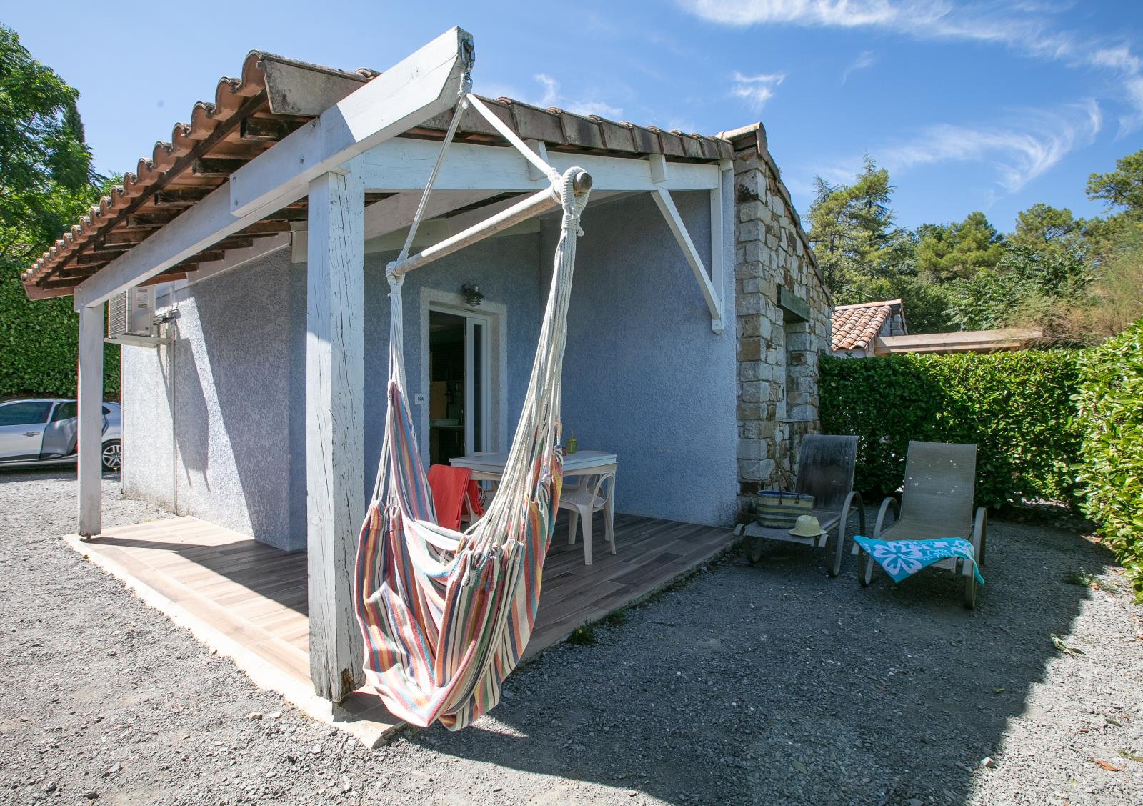 Huuraccommodatie - Maisonnette (Cottage With Air Conditionner 6 People) - Domaine des Chênes