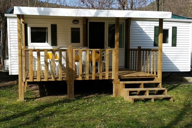 Accommodation - Mobilhome 2 Bedrooms Air-Conditioning - Camping Domaine Arleblanc