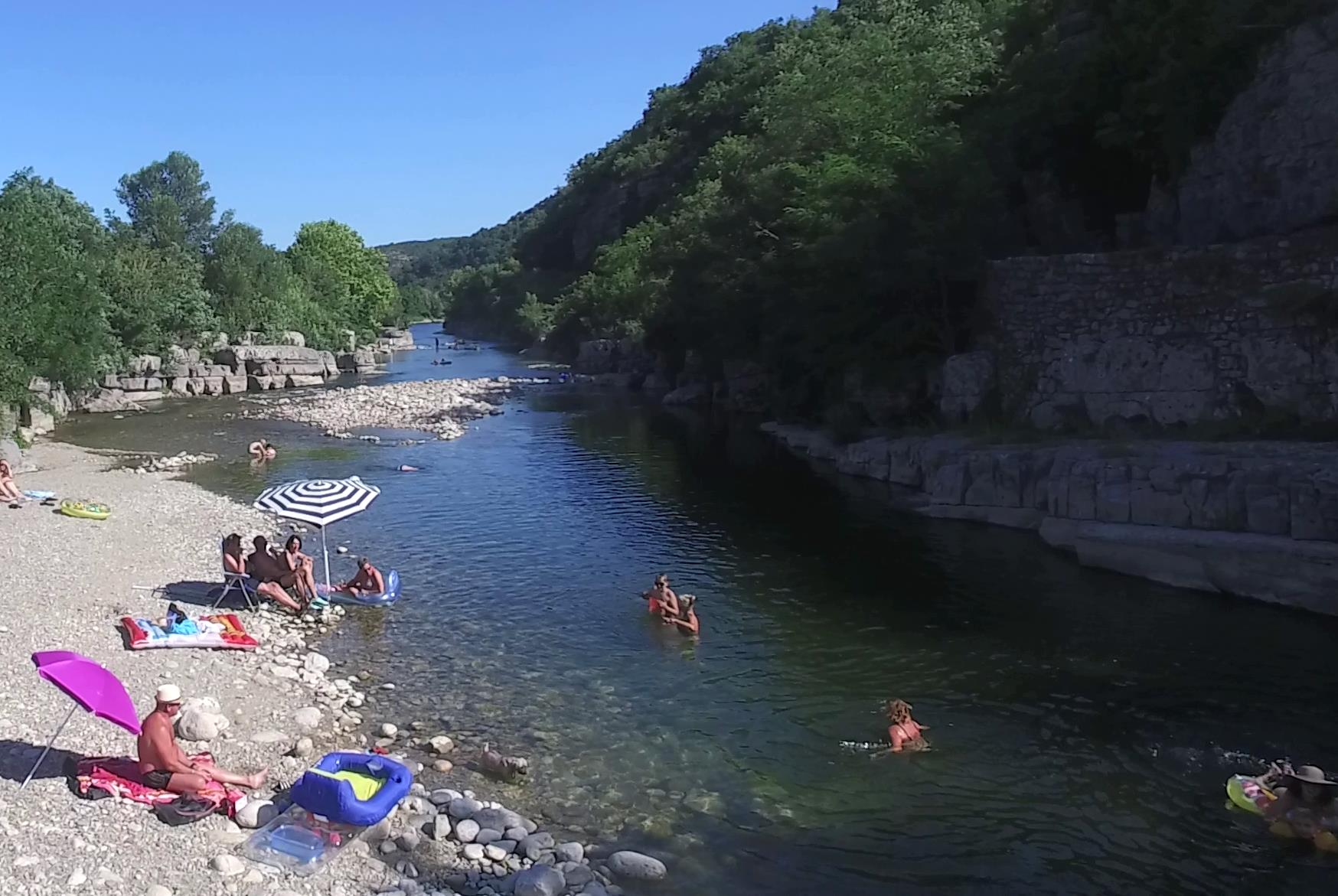 Camping Domaine Arleblanc, Rosières, Ardèche