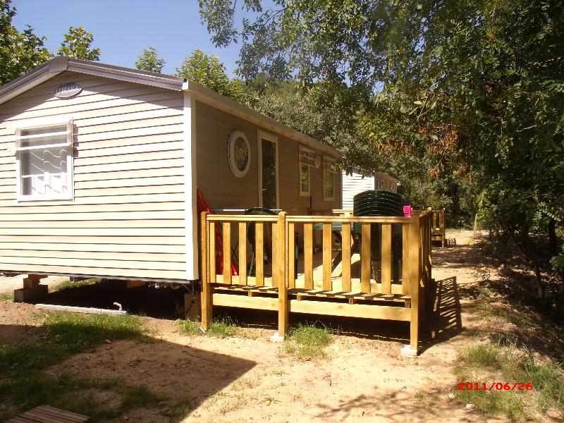 Location - Mobilhome Ohara 6-8 Pers 3 Chambres + Salon Convertible - Camping Le Moulin d'Onclaire