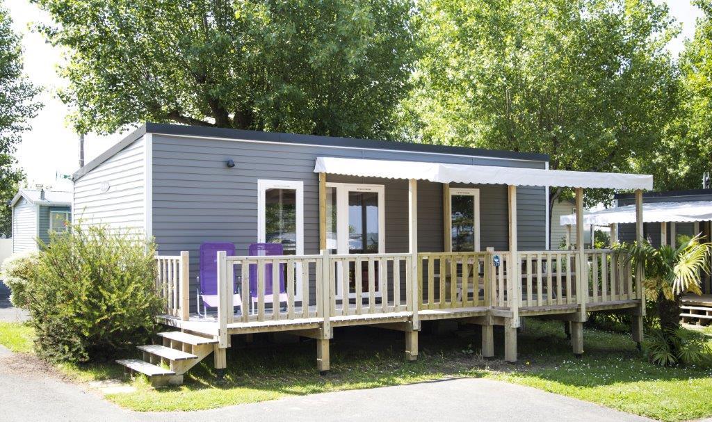 Mobil home Grand confort Prestige 2 chambres, climatisation - 865