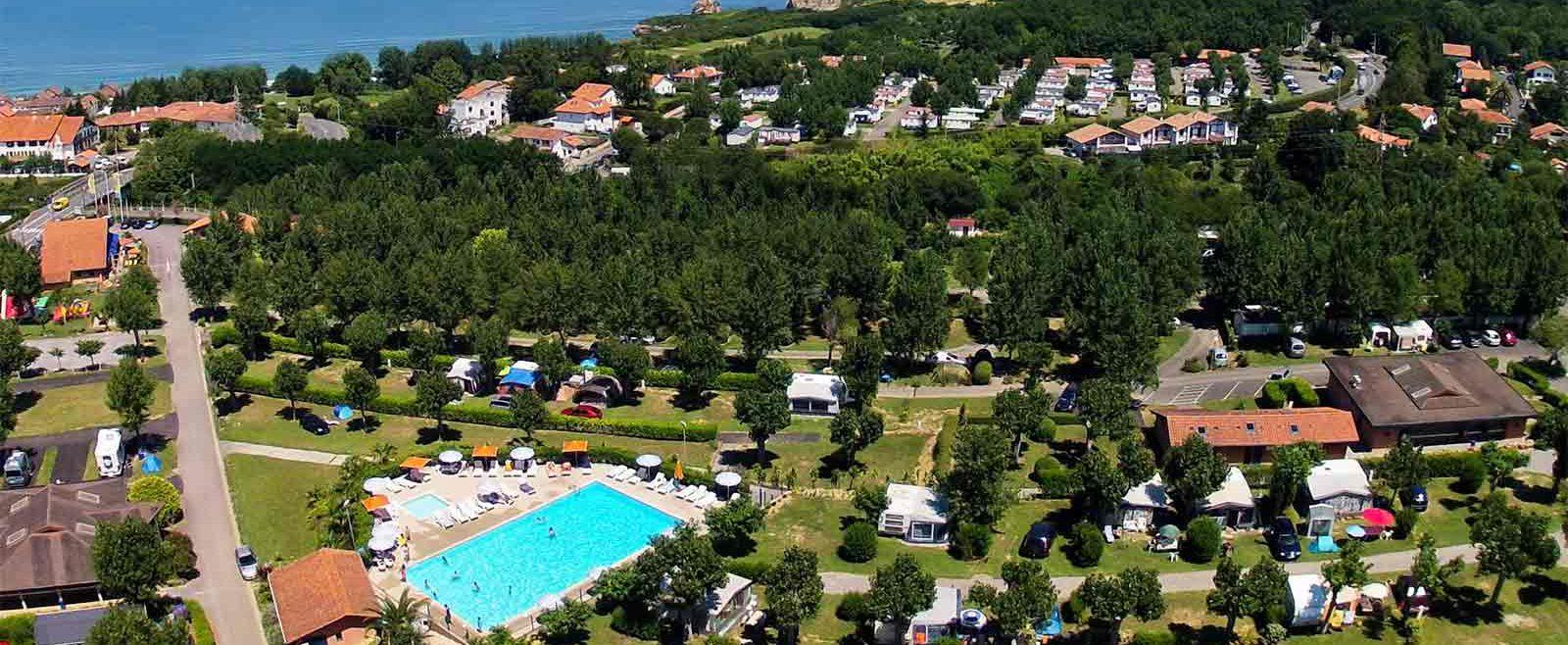 Camping Ametza, Hendaye, Pyrénées-Atlantiques