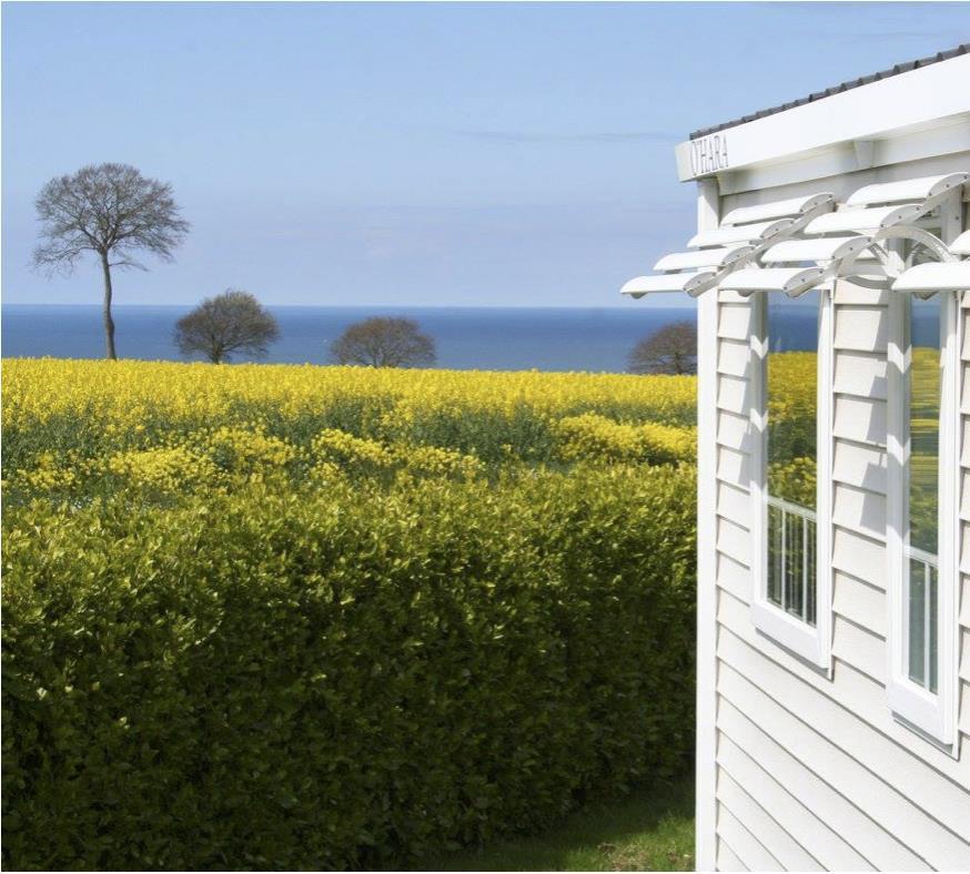 Location - Mobilhome Confort 2 Chambres Vue Mer - Camping Sites et Paysages Bellevue
