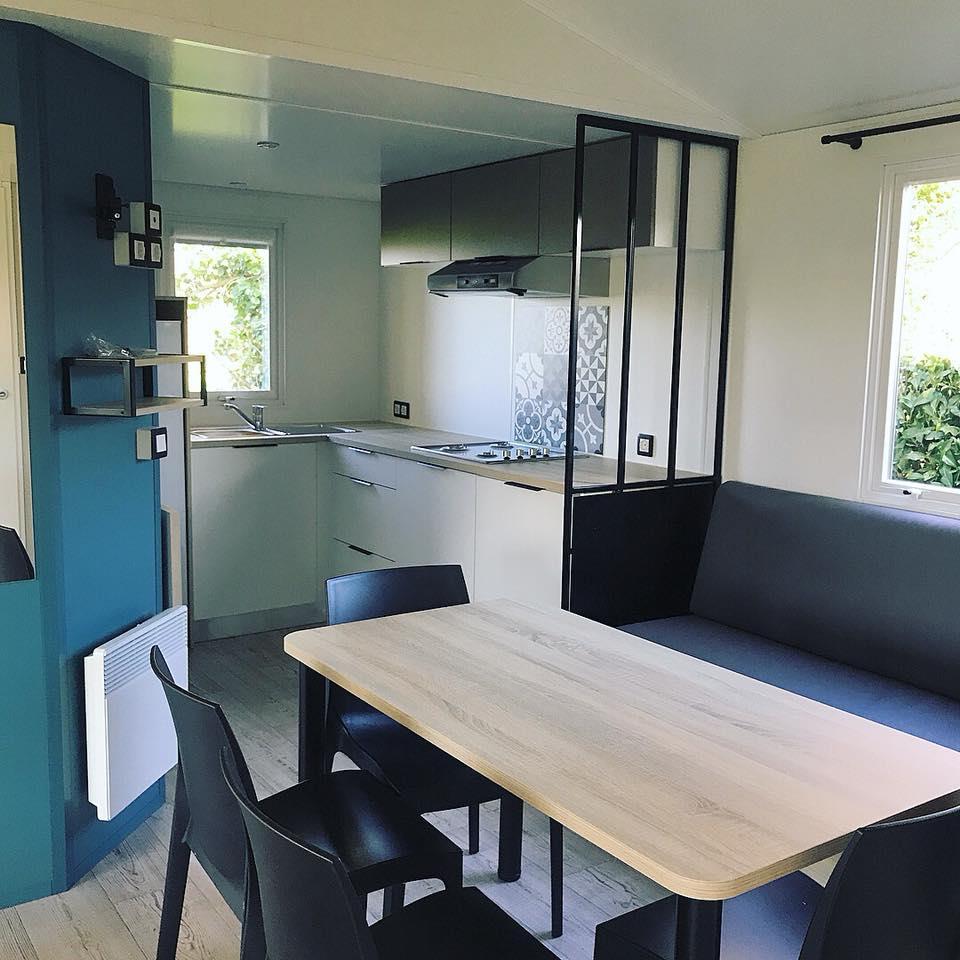 Location - Mobilhome Privilege 2 Chambres Avec Lave-Vaisselle - Camping Sites et Paysages Bellevue