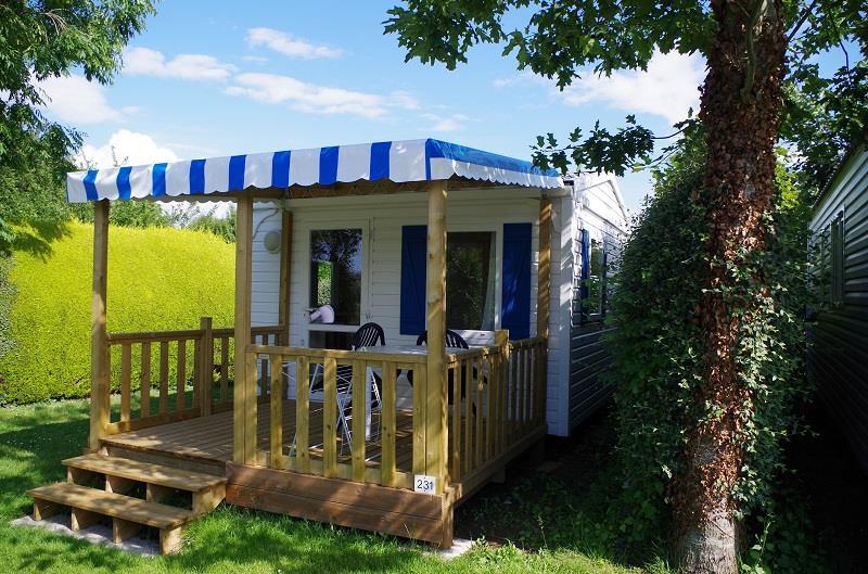 Location - Mobilhome Essentiel 1 Chambre - Camping Sites et Paysages Bellevue