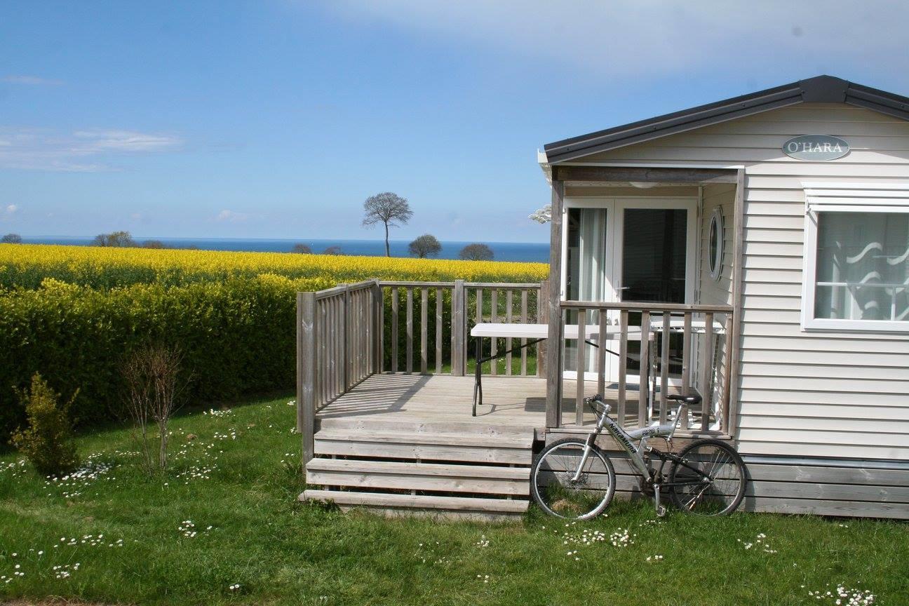 Location - Mobilhome Confort 3 Chambres Vue Mer - Camping Sites et Paysages Bellevue