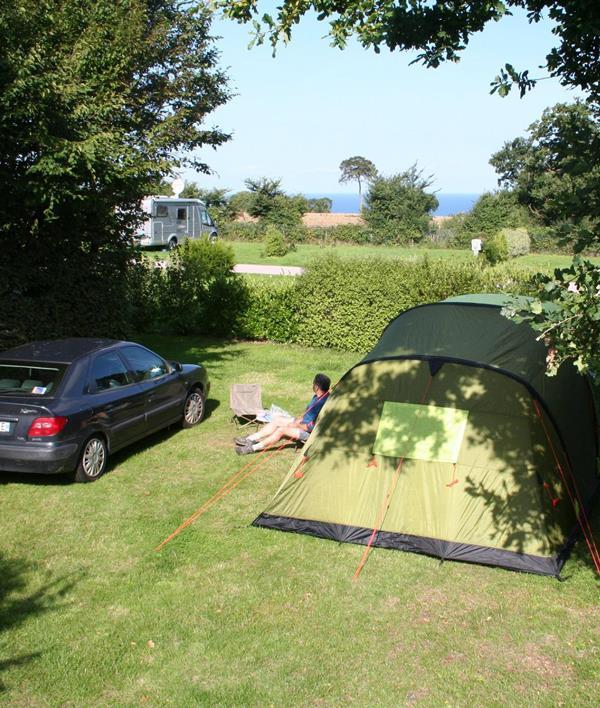 Emplacement - Emplacement Nature (2 Personnes, Véhicule, Caravane, Tente Ou Ccar) - Camping Sites et Paysages Bellevue