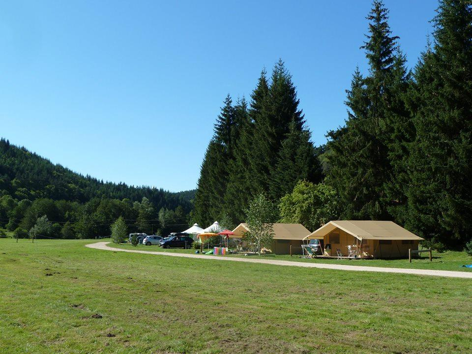 Camping Sites & Paysages de Vaubarlet, Sainte-Sigolene, Haute-Loire
