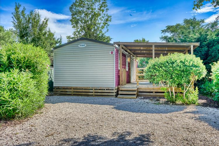 Location - Mobilhome Luxe (Climatisation + Tv + Lave-Vaisselle) - Camping Domaine des Champs Blancs