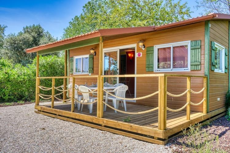 Location - Chalet Confort (Climatisation + Tv) - Camping Domaine des Champs Blancs