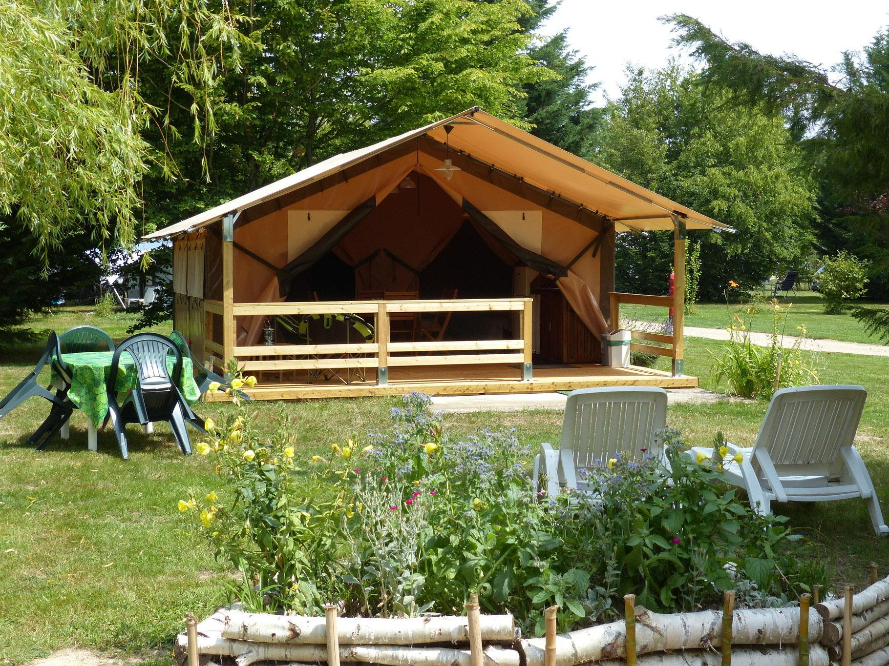 Location - Bungalow Lodge Victoria - Camping les Ripettes