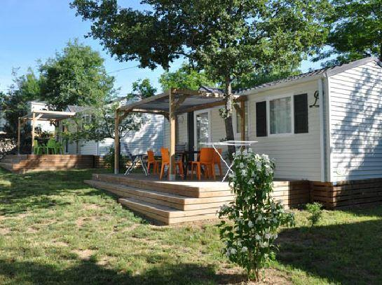 Accommodation - Family Mobile Home - 2 Bedrooms - 25M² With Bathroom / Bastides**** - CAMPING LA DIGUE