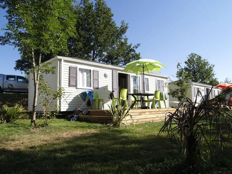 Accommodation - Family Xl Mobile Home - 3 Bedrooms - 32M² With Bathroom - CAMPING LA DIGUE