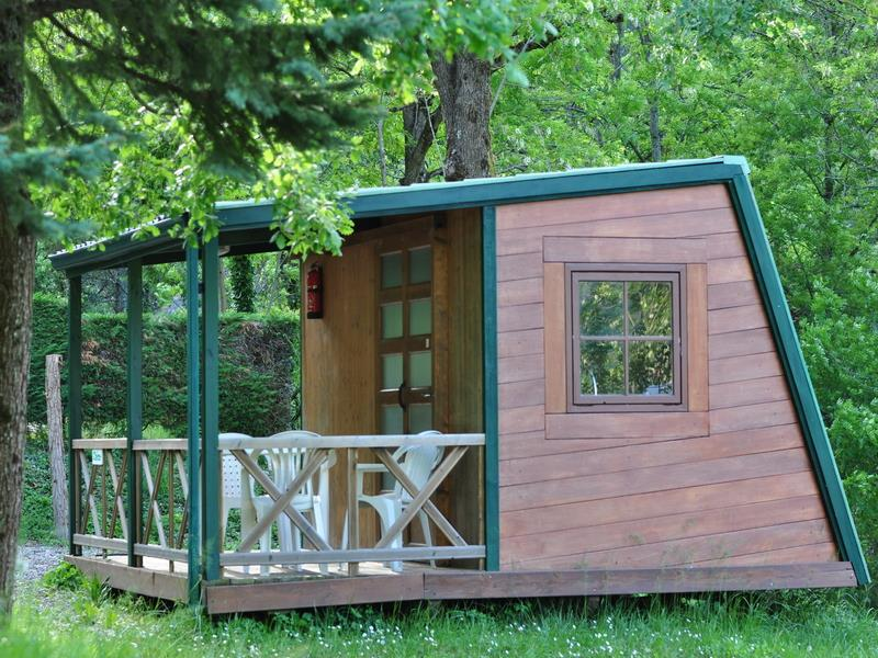 Accommodation - Chalet N°7 Camp'nature 20M2 Without Toilet Blocks - CAMPING ISERAND CALME et NATURE***