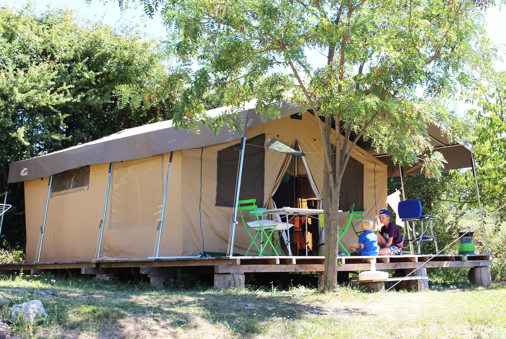 Location - Tente Lodge - Camping Forcalquier