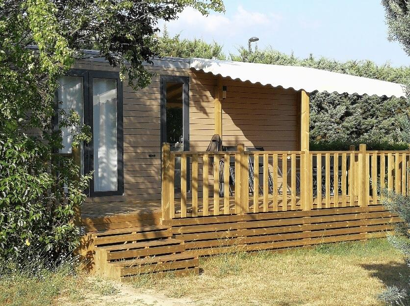 Location - Mobil-Home - Camping Forcalquier