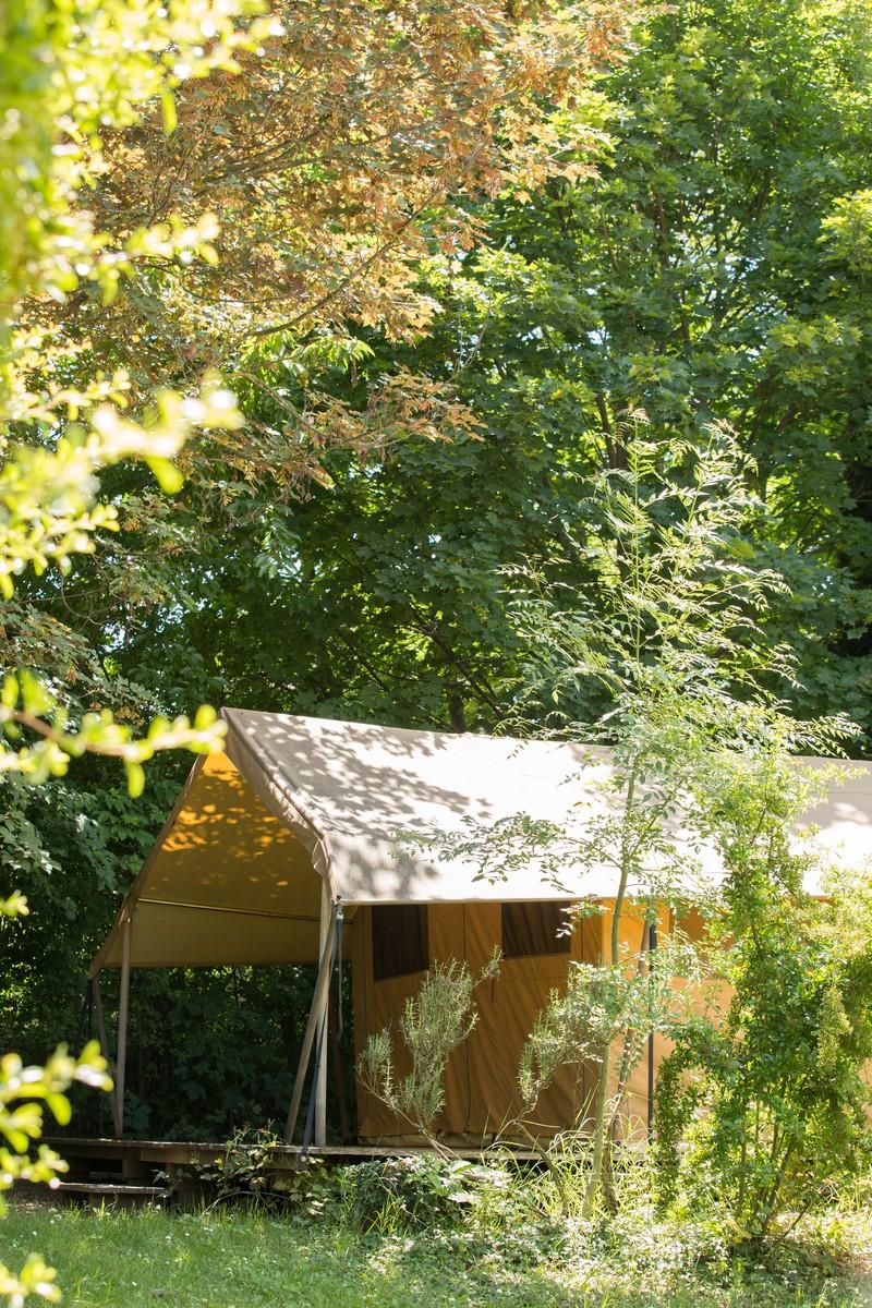 Location - Tente Safari 4 Pers. - Camping Forcalquier