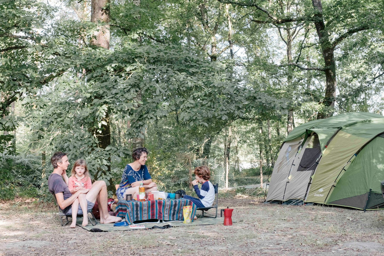 Emplacement - Emplacement Camping Confort - Huttopia Versailles